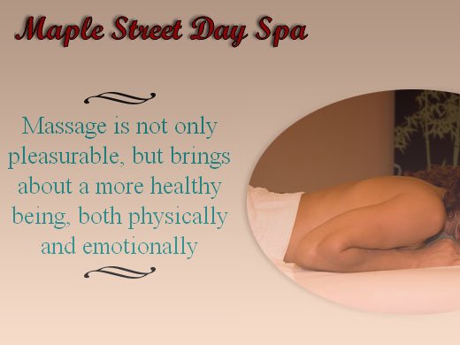 Screenshot of Maple Street Day Spa